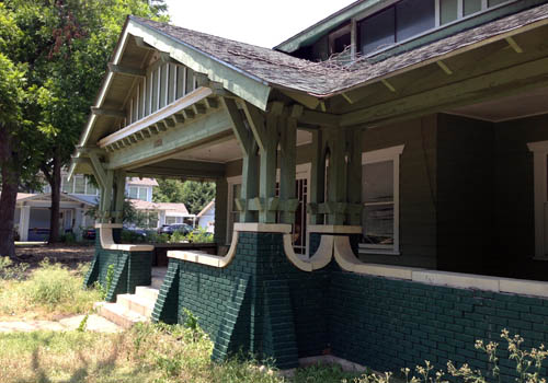 Craftsman Bungalow on Goliad Ave.